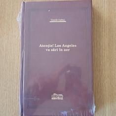 VINTILA CORBUL- ATENTIE! LOS ANGELES VA SARI IN AER- legatura piele - Carte de lux, Adevarul