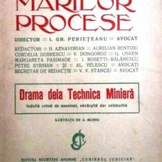 Biblioteca Marilor Procese Drama de la Technica Miniera Crima de asasinat