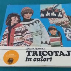 TRICOTAJE ÎN CULORI/ EMILIA MOISESCU/1984