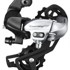 Schimbator Spate Shimano Tourney RD-TX800 7/8 Vit Prindere Surub, ArgintiuPB Cod:ERDTX800SGSS - Piesa bicicleta