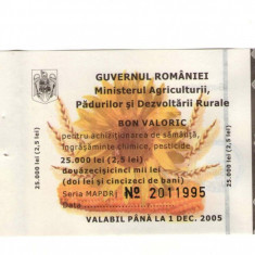BON VALORIC AGRICULTURA 25.000 - MKB 100