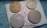 5,10,25, BANI 1955/6+CAD0U 5 LEI 1949,100 lei rege mihai