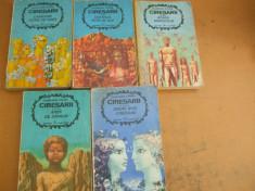 Ciresarii 5 volume C. Chirita 1972 coperti Sabin Balasa foto
