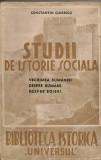 Constantin Giurescu - Studii de istorie sociala - 1943