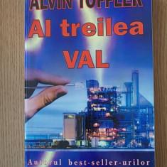 AL TREILEA VAL- ALVIN TOFFLER - Carte Politica
