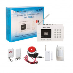 Resigilat : Sistem de alarma wireless PNI 2700A pentru 99 de zone wireless - Sisteme de alarma