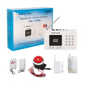Resigilat : Sistem de alarma wireless PNI 2700A pentru 99 de zone wireless