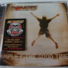 Donots -Amplify mthe good time -cd - Muzica Pop BMG rec
