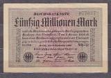 GERMANIA 1923 - BANCNOTA 50.000.000 MARCI XF