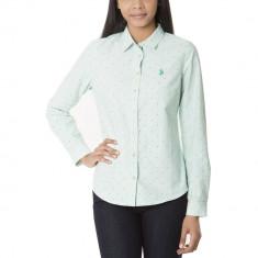 Camasa US POLO ASSN Colorata - Camasi Dama, Femei - 100% AUTENTIC, M, Bumbac, US Polo Assn