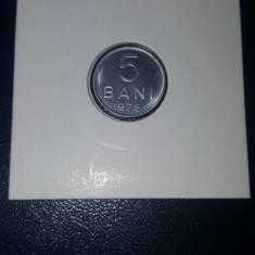 Moneda Romania 5 Bani 1975 UNC - BU