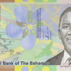 Bancnota Bahamas 1 Dolar 2017 - PNew UNC ( hibrid ) - bancnota america