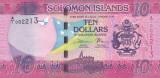 Bancnota Insulele Solomon 10 Dolari (2017) - PNew UNC