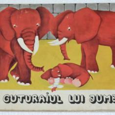 Carte copii - Guturaiul lui Jumbo - 1983 - Carte de povesti