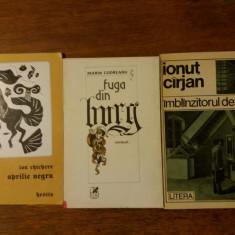 Lot 3 carti de poezie cu dedicatii si autografe / R2P5F - Carte poezie