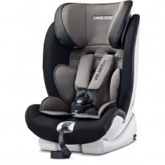 Scaun auto cu Isofix Caretero VolanteFix Graphite - Grupa 9-36 kg - Scaun auto copii Caretero, 1-2-3 (9-36 kg)