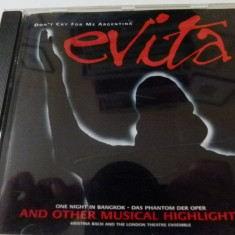 Evita -cd - Muzica soundtrack BMG rec