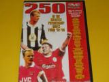 DVD fotbal - 250 goluri (top) Premiership Anglia 1992-1999