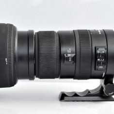 Obiectiv Sigma 50-500mm f/4.5-6.3 APO DG OS HSM pt. Nikon - Obiectiv DSLR Sigma, Super-tele, Autofocus, Nikon FX/DX, Stabilizare de imagine