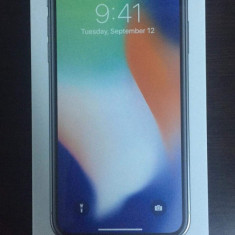 Iphone X - Telefon iPhone Apple, Argintiu, 64GB