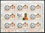 Romania 2012, LP 1961 e, Ordinul de Malta, minicoala, MNH! LP 84,25 lei