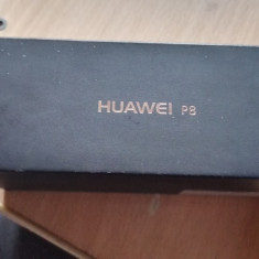 Vand Huawei P8 (NU Lite !) - Telefon Huawei, Negru, 16GB, Neblocat