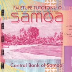 Bancnota Samoa 5 Tala (2008) - P38a UNC ( numar mic de serie )