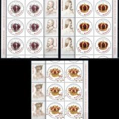 Romania 2013, LP 1970 c, Coroanele Regilor, minicoli, MNH! LP 172, 40 lei - Timbre Romania, Nestampilat