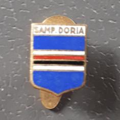 Insigna fotbal - Italia - Sampdoria - cu talpa