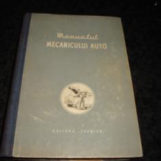 Manualul mecanicului auto - 1956