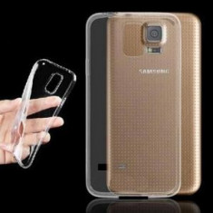Husa slim transparenta compatibilia cu Samsung Galaxy S5 ! - Husa Telefon Samsung, Silicon
