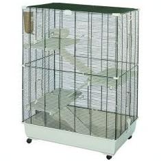 Cușcă pentru rozătoare SAMO 82 C2 cu accesorii - 82 x 51 x 117 cm