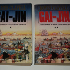 Gai Jin, James Clavell, 2 volume
