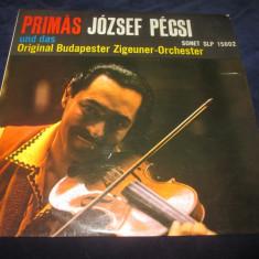 Jozsef Pecsi - Primas Jozsef Pecsi _ vinyl,LP _ Sonet(Germania)