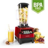 Klarstein Herakles - 5G Putere 1500W Mixer 2 litri rosu Green Smoothie BPA -free