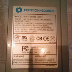 Sursa 235W Fortron buton Start-Stop P74 - Sursa PC Fortron, 250 Watt