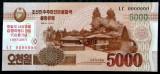 NORTH KOREA COREA DE NORD 5.000 5000 WON 2017 COMEMORATIVA SPECIMEN UNC **