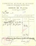 Z442 DOCUMENT VECHI-COMITETUL SCOALEI COMERCIALE SUPERIOARE DE BAIETI, BRAILA