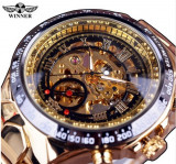 Ceas Winner Win026 FullGoldPlated, Mecanic-Automatic