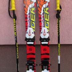 Skiuri schiuri copii 90 cm + bete 75 cm