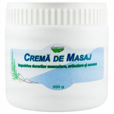 Crema masaj impotriva durerilor 500 gr, Abemar - Ulei masaj