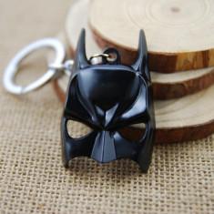 Breloc tema Batman Mask  metalic + ambalaj cadou