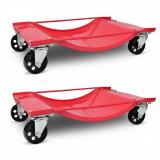 Set 2 Carucioare pentru transport automobile