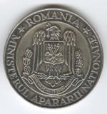Placheta MILITARA - ACADEMIA de INALTE STUDII MILITARE - MAN