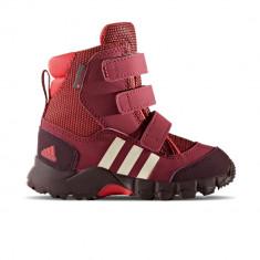 Pantofi sport copii adidas CW Holtanna Snow CF CM7279 - Ghete copii Adidas, Visiniu