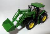 WIKING tractor John Deere 7280R mit frontlader  1:87, 1:43