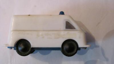PVM - Masinuta veche jandarmerie (politie / ambulanta) URSS (Rusia) din plastic foto