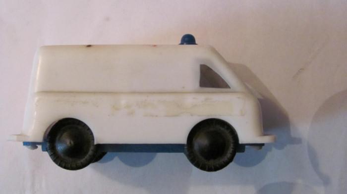 PVM - Masinuta veche jandarmerie (politie / ambulanta) URSS (Rusia) din plastic
