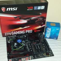 Placa de baza Msi z720 Gaming Pro si procesor Intel Pentium g4400