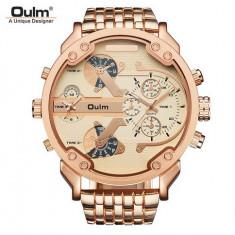 Ceas Militar OULM021 Ultimate Full Dz Gold - Ceas barbatesc